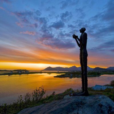 Mannen om kveldne i Bø i Nordnorge