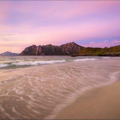 stranda i skumring i nordnonge
