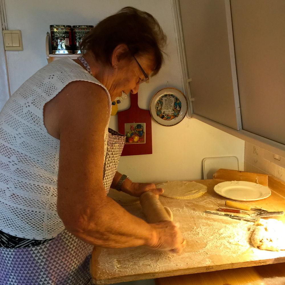 Tante baker sine populære norlandslefser